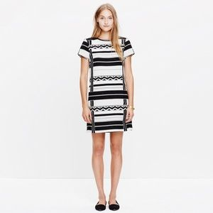 Madwell Geo Jacquard Dress